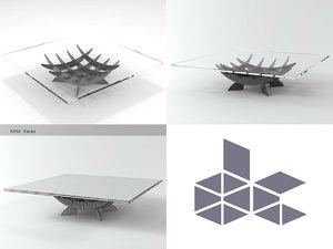 3D atlas model