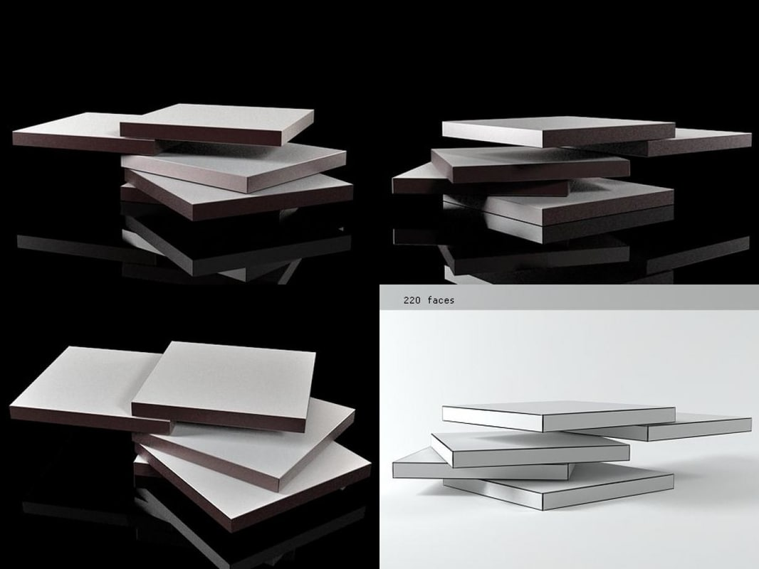 Rotor 3d Model Turbosquid 1185059 - Rotor-coffee-table-by-bellato