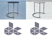 3D paimio table 606