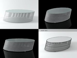 3D lolah coffee table model