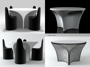 3D landscape table