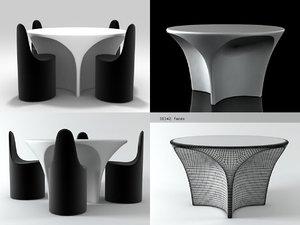 3D landscape table