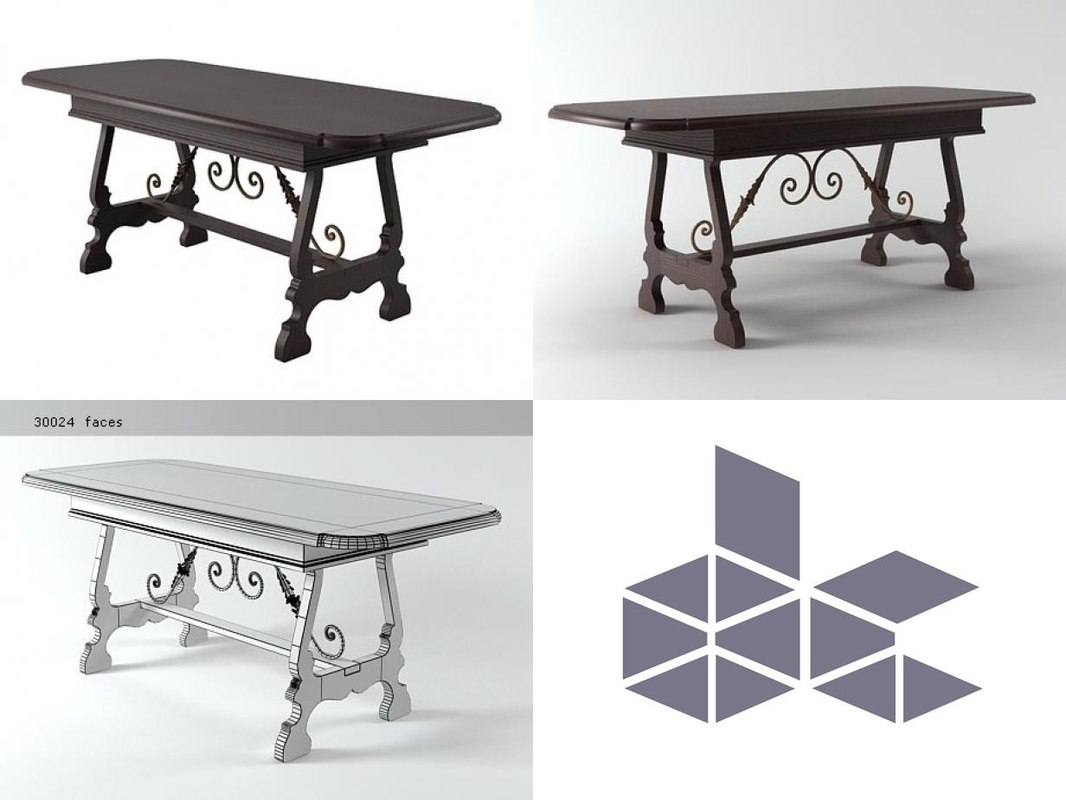 dining table n 3D model