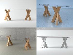 trias rectangular 3D model