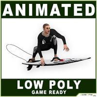 White Surfer 10718 tris