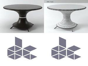 nilo large table 3D