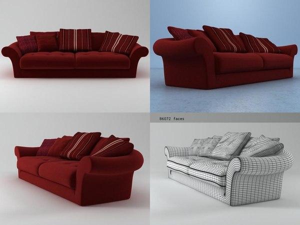 paresse sofa 3D model