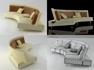 baku sofa 3D
