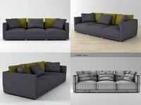 3D model sketch sofa