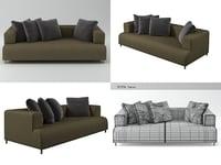 3D opium sofa