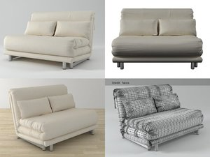 multy loveseat 3D model