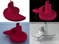 tatlin edra 3D model