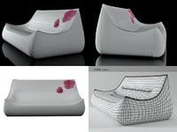sake large settee model