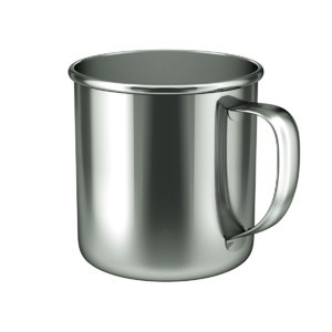 3D model cup stainless steel