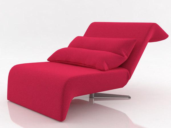 3D downtown fireside chair