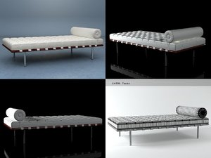 couch knoll 3D model