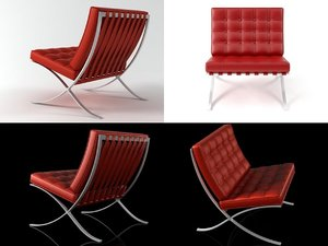 3D knoll chair