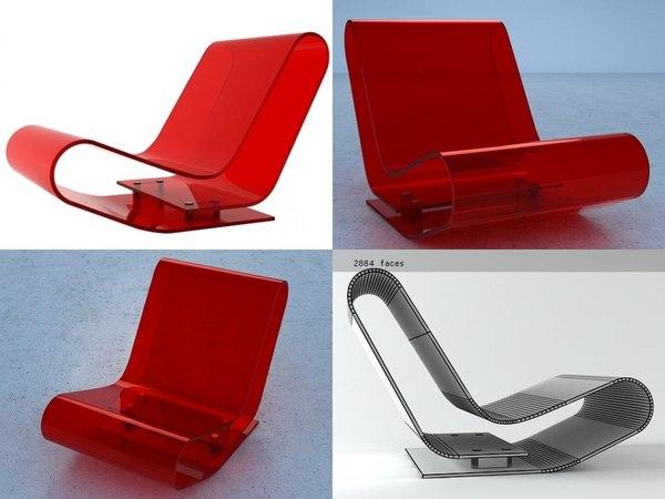 3D lcp kartell model
