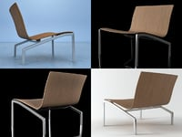 3D lounge chair pl200