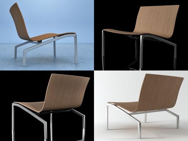 3D lounge chair pl200