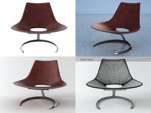scimitar lounge 3D model
