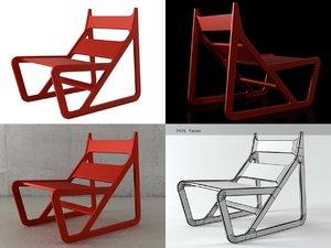 sleigh autoban lar 3D model
