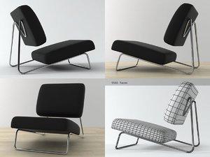 3D model hirche lounge