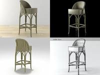 3D model weston barstool