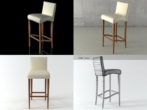 cindy stool 3D model
