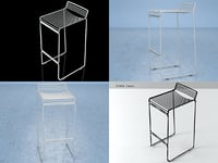 3D hee stool
