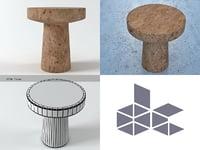 cork family c 3D model