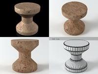 3D cork family