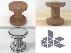 3D cork family b model