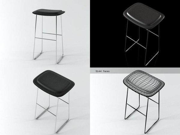 hi pad stool 3D model