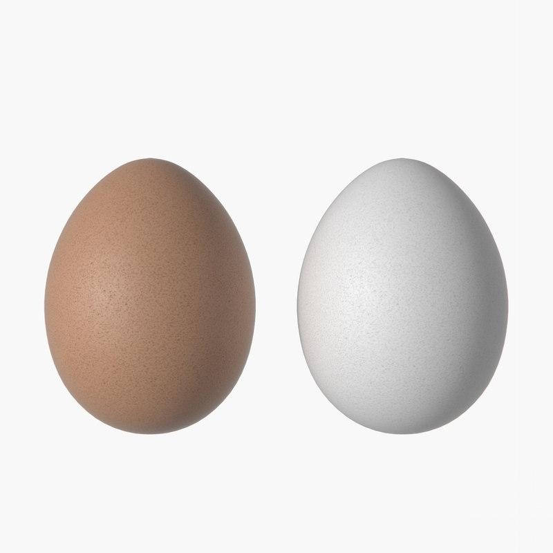 realistic eggs 3D