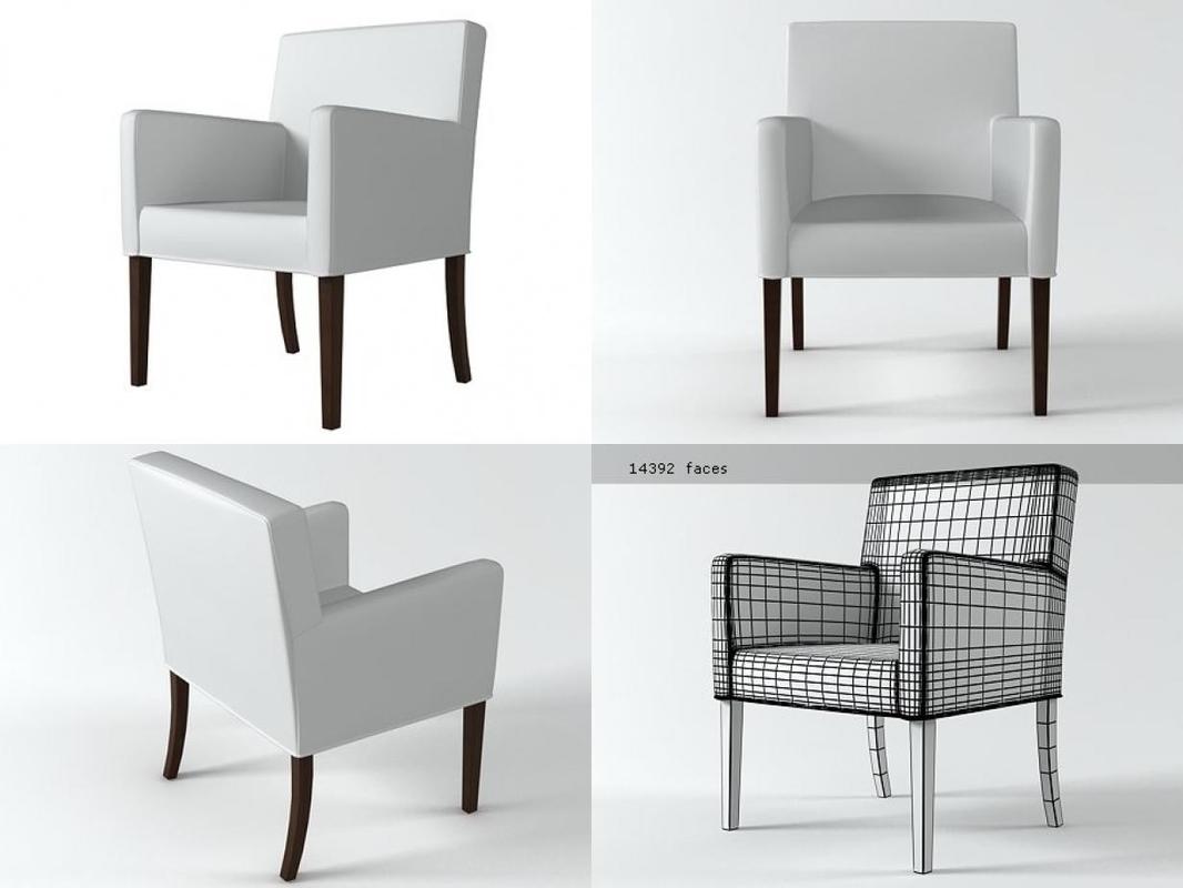 chaise london 3D model