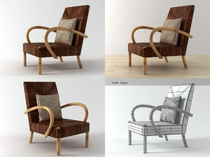 3D serengeti rope club chair