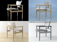 3D 48 chair model