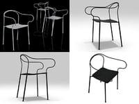 3D kyparn chair
