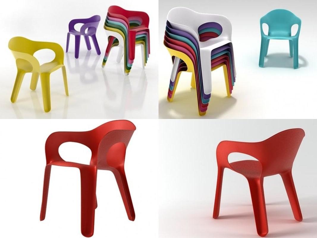 easy chair 3D model