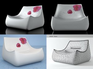 3D sake armchair