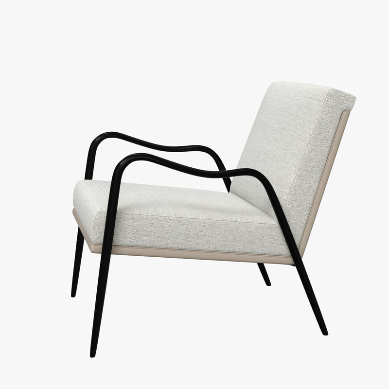 3D model armora lounge chair