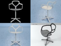 trace chair 3D