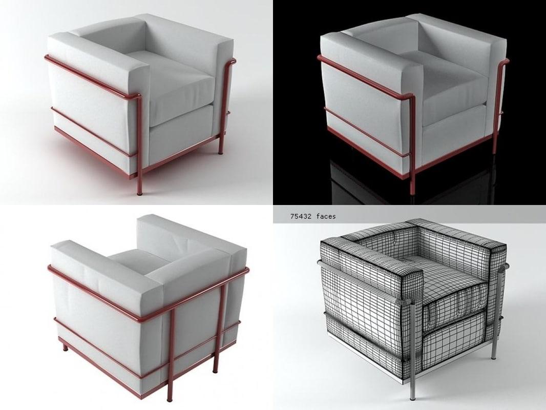 Fotel Lc2