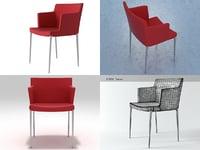 3D guest armchair