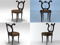 1940 s chair 3D model