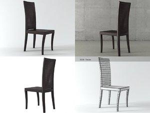 3D zoe chair