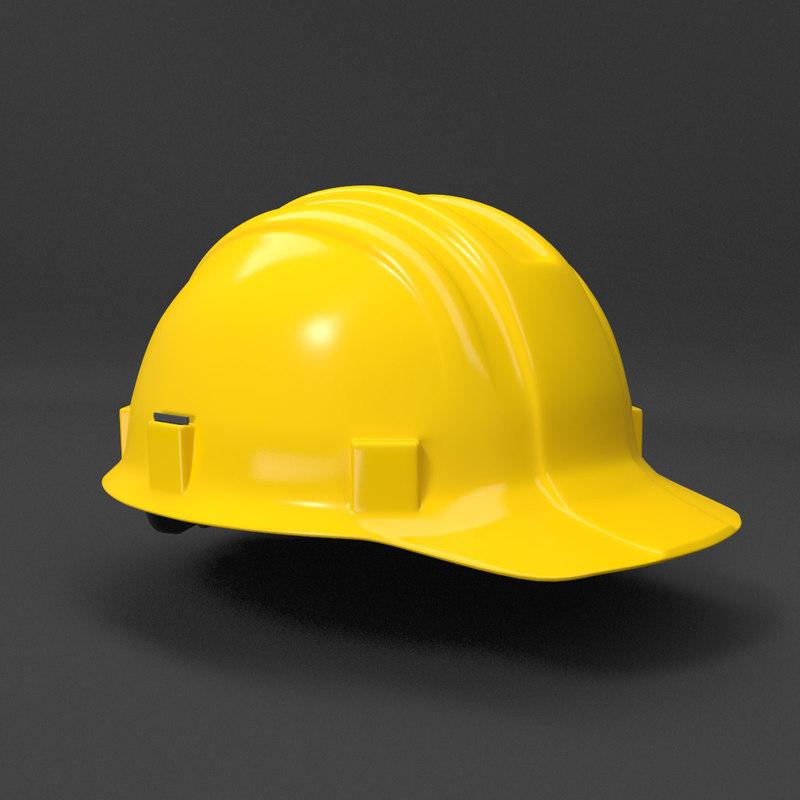 hard hat - helmet model