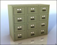 document cabinet model