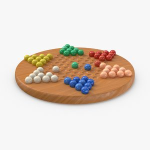 3D chinese-checkers